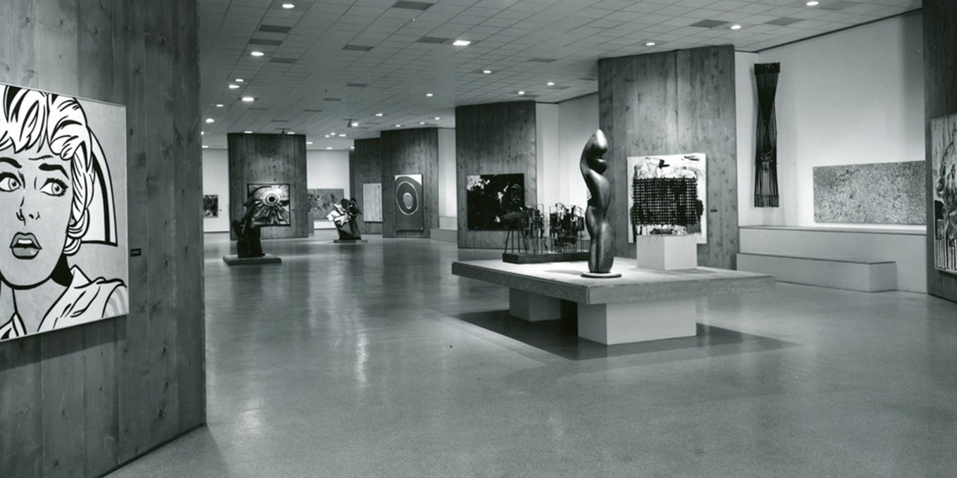 24th Annual Exhibition Of The Society For Contemporary American Art At Institute June 1964 With Artwork By Roy Lichteinstein And Lee Bontecou
