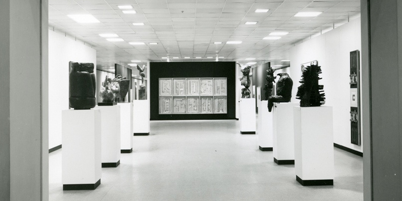 Entrance To The 65th Annual Exhibition Of American Painting And Sculpture At Art Institute January 1962
